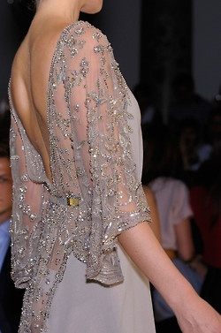 Elie Saab Fall 2012 Couture  Winter Neutrals