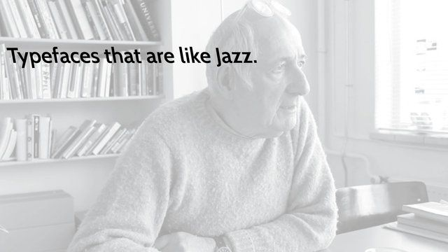 Typefaces are like jazz–Karel Martens by Anna Craemer