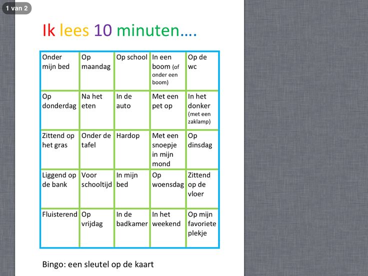 Wanneer heb je gelezen deze Kinderboekenweek? Leesbingo Gevonden op pinterest: vertaald en aangepast uit het Engels. Een leuke manier om kinderen gemotiveerd te laten lezen in bijv. een vakantie. http://www.startblokachterveld.nl/docs/leesbingo.pdf