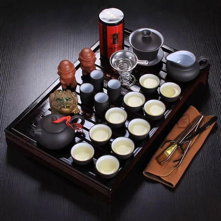 26-Piece Traditional Chinese Tea Set //Price: $99.99 & FREE Shipping //     #Healthy #Unwind #TeaStory #Springtea #Oolong #Anticancer #Oolong #Healthy #Tealife #Tealeaf #Anticancer #TeaSmarter