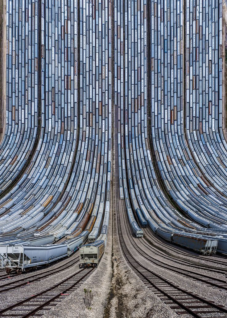 Turkish digital artist and photographer Aydin Büyüktas continues his dizzying landscape series Flatland with this new collection of collages shot in various locations around the United States including Texas, Arizona, New Mexico, and California. Each image requires around 18-20 aerial drone shots wh