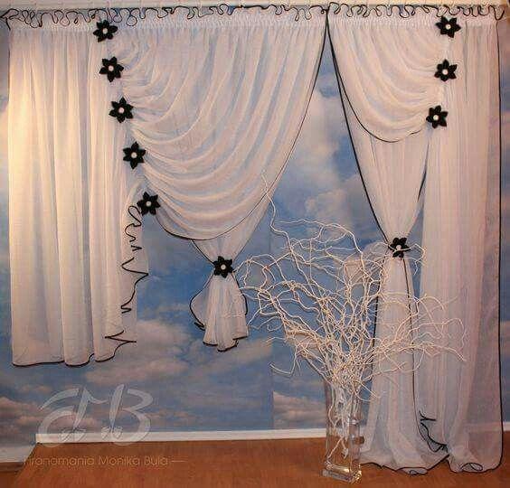 Adornos Para Cortinas Cortinas De Bao Kids Room Idea Cortinas De - Adornos-para-cortinas