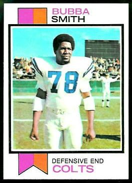 1973 topps football cards | Bubba Smith - 1973 Topps #155 - Vintage Football Card Gallery