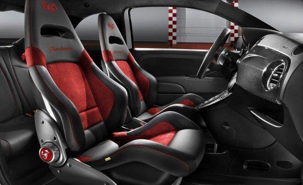 2015 Fiat 500 Abarth interior