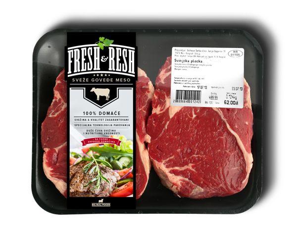 Big Bull Foods   Meat Packaging design proposals by Marko Vajagic, via Behance