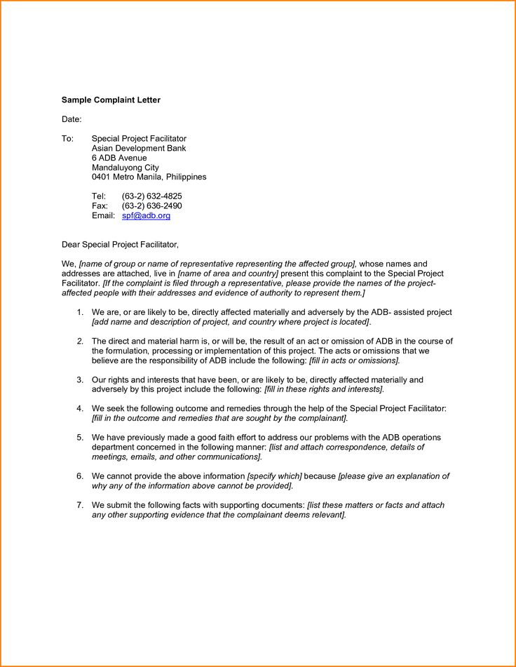 Best  Business Letter Sample Ideas On   Sample Of