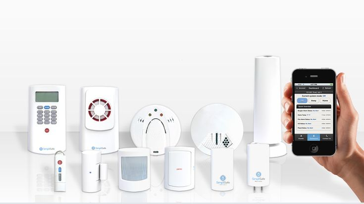 SimpliSafe Wireless Security Systems: Live. Safely - definitely buying this for the next house if not already equipped