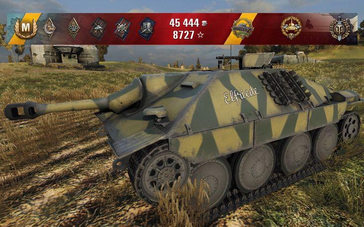 WoT Hetzer   14 kills - Siegfried Line