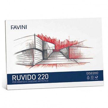 BLOCCO DISEGNO CARTANGOLI FAVINI - RUVIDO  @FaviniPaper