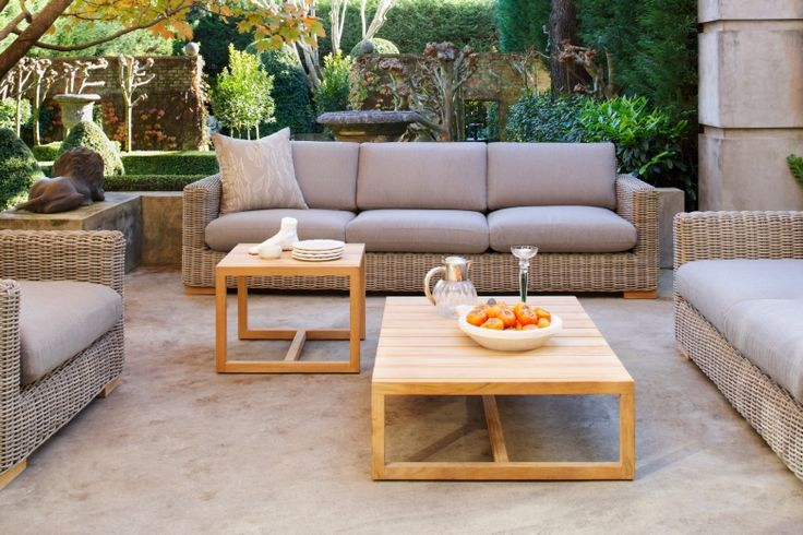 The Claybourne range of outdoor furniture will make spring entertaining a lot more comfortable.  Available through Eco Outdoor.