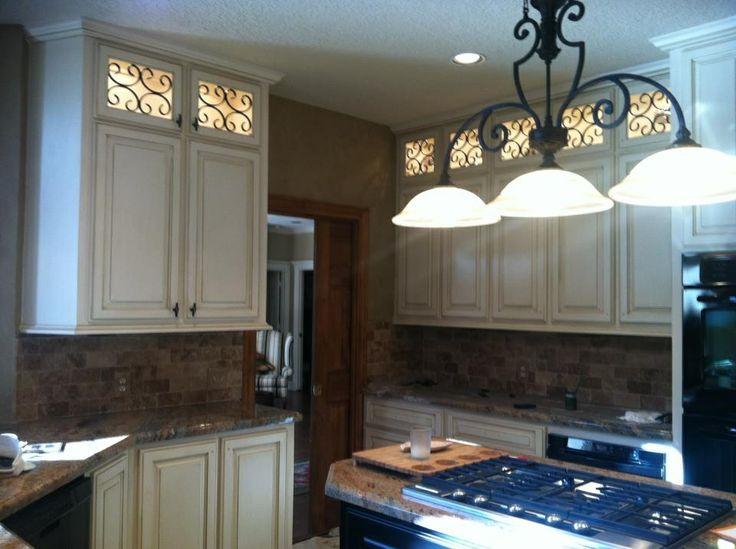Cream Cabinets With Glaze Glazedcabinets Kindra Kornegay