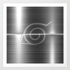 Konoha Logo Art Print