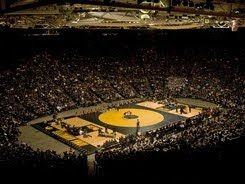 college wrestling arena | Iowa Hawkeye Wrestling Team Prepares for First Real Test of the Season