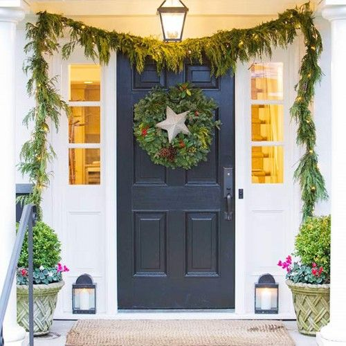 10 best images about holidays on Pinterest Front doors, Merry