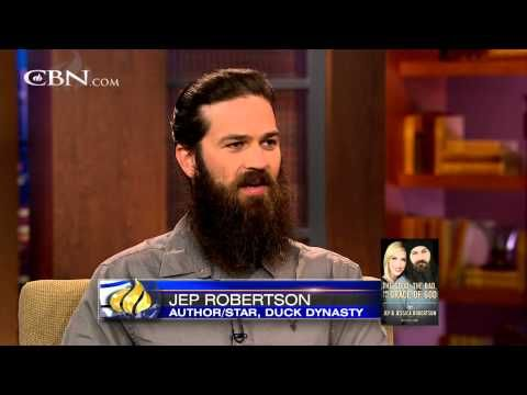 Jep and Jessica Robertson and the Grace of God - YouTube