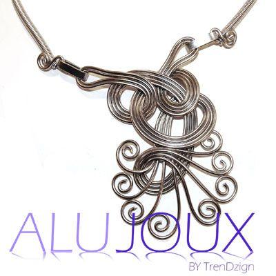 23 besten AluJoux, wire design, Drahtschmuck Bilder auf Pinterest ...