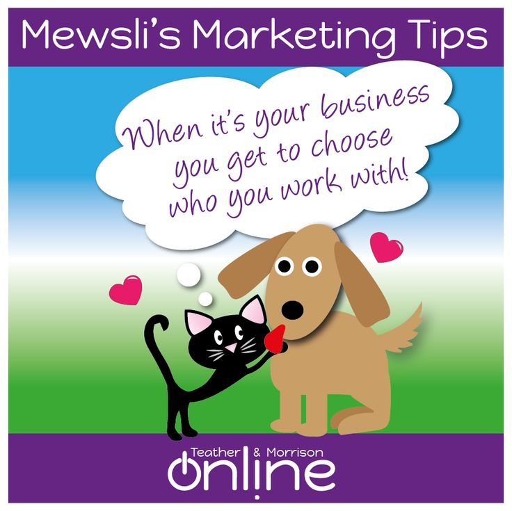 Don't be afraid to say no - you don't have to choose to work with everyone! #Mewsli  #marketing  #smallbiz