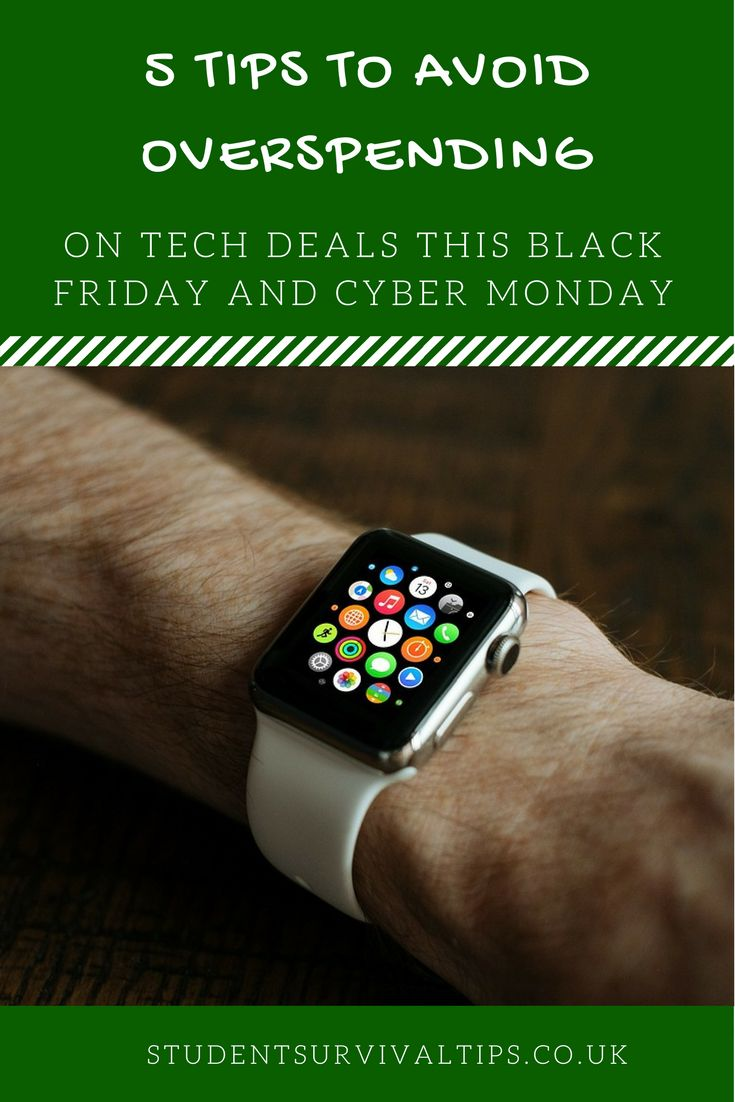 It's easy to overspend on the tech deals at Black Friday and Cyber Monday. When you don't have the budget, you can find yourself in a pickle come December. Don't overspend with these top tips.  http://amp.gs/Beof