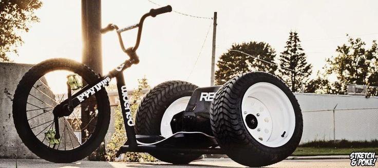 Low three wheelz