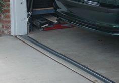 Garage Door Threshold Seal - Gray Image