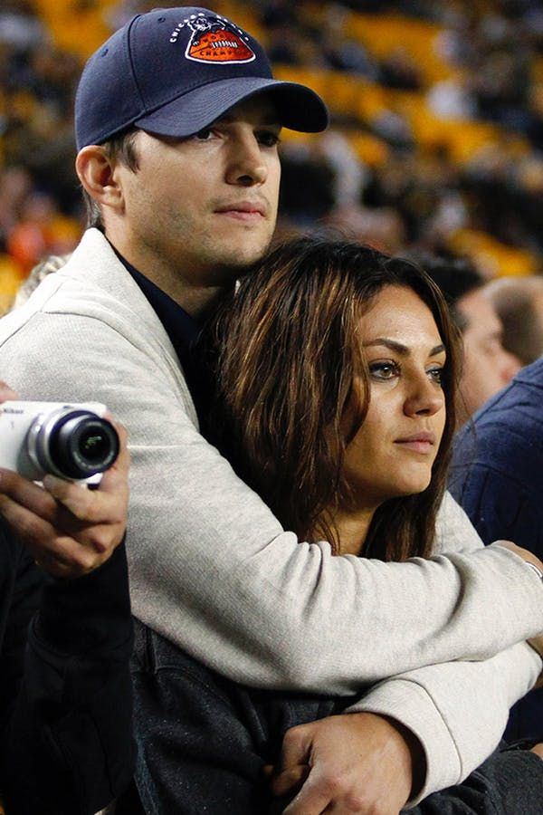 8 Times Mila Kunis and Ashton Kutcher Were Just the Cutest via @PureWow