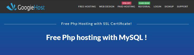 Free Php Hosting Website hosting, Php website, Free web