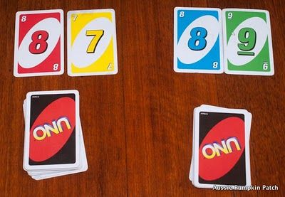 Uno math games