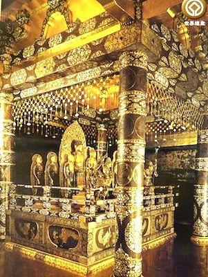 世界遺産・平泉旅行。中尊寺の金色堂