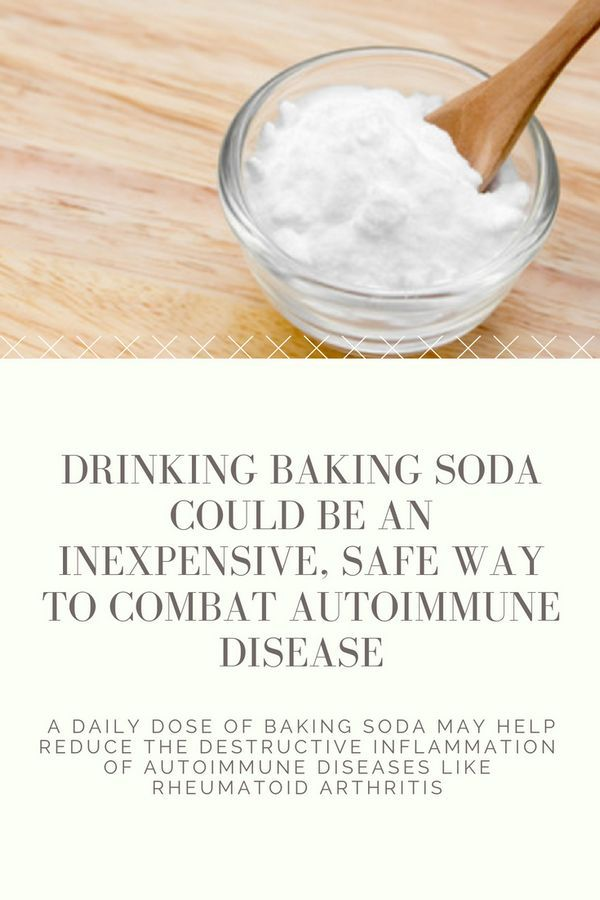 Drinking baking soda could be an inexpensive, safe way to