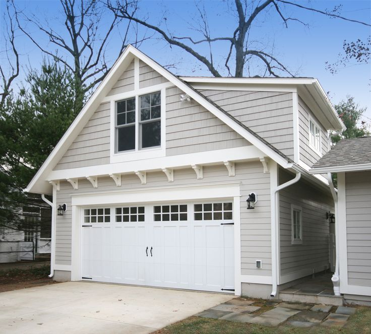 Modern Garage With Apartment Above
