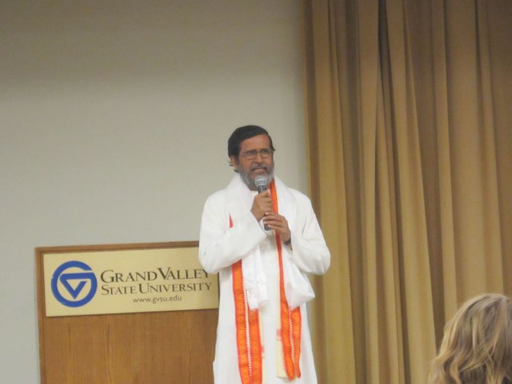 Speaking at Grand Valley State University in US 2013