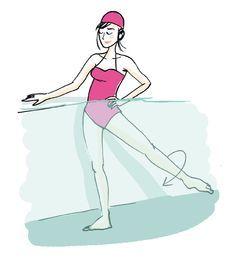 Les meilleurs mouvements d'Aquagym pour perdre du poids | Leslie Bedos