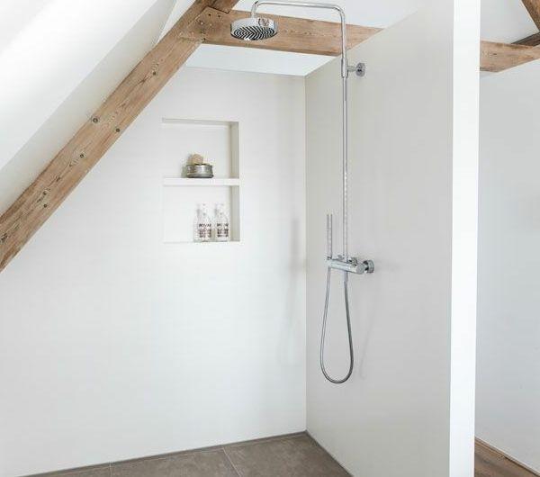 Ein Badezimmer unter Abhang oder Dachboden in 52 Fotos!   – Annabelle Leduc