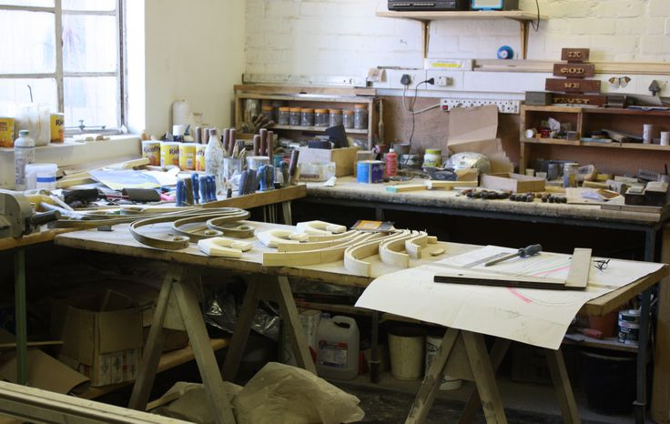 Oxley's design workshop.