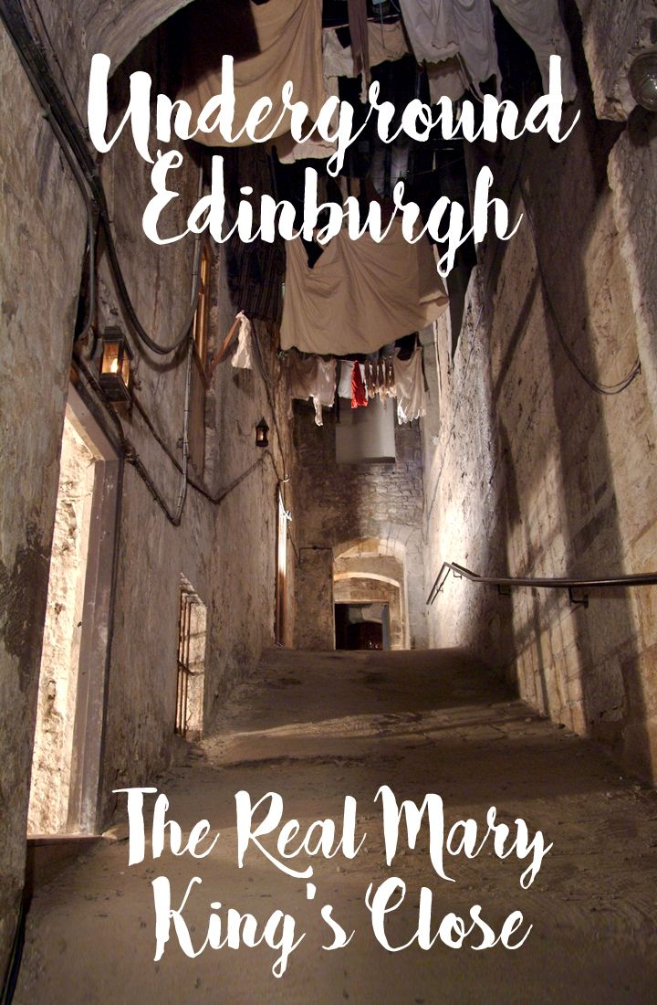 Head underground in Edinburgh's Old Town to discover the lost 17th century streets of the Real Mary King's Close, buried beneath the Royal Mile.
