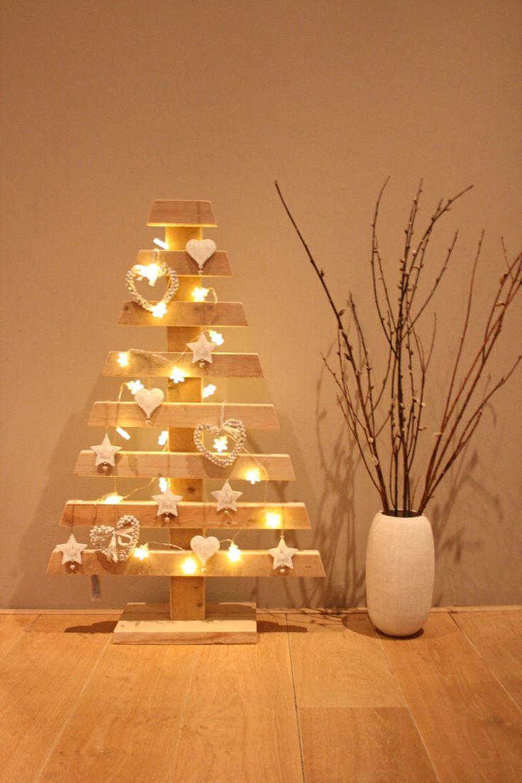 Houten kerstboom #christmas