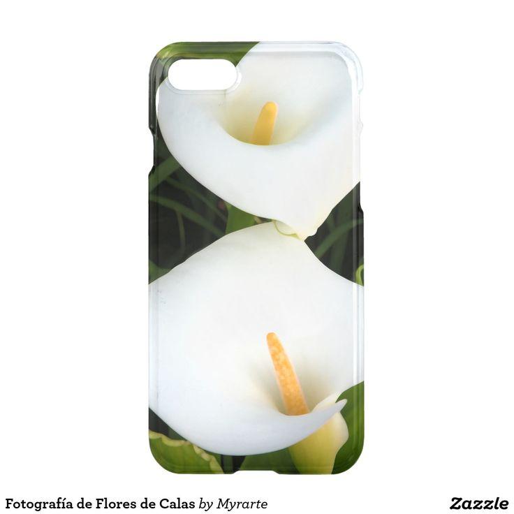 Fotografía de Flores de Calas. Producto disponible en tienda Zazzle. Tecnología. Product available in Zazzle store. Technology. Regalos, Gifts. Link to product: http://www.zazzle.com/fotografia_de_flores_de_calas_iphone_7_case-256920766394755587?CMPN=shareicon&lang=en&social=true&rf=238167879144476949 #carcasas #cases #flores #flowers