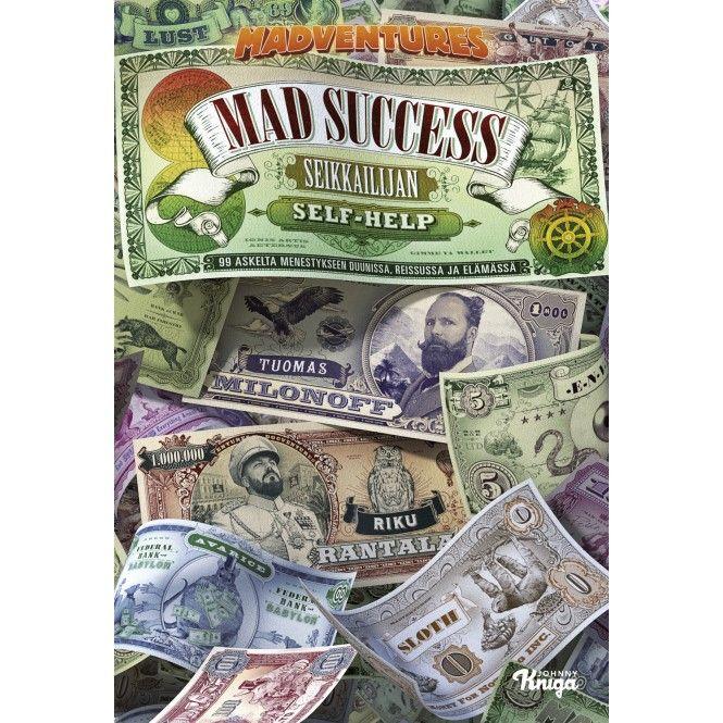 Kirja MAD SUCCESS - SEIKKAILIJAN SELF HELP -  Partioaitta -kirja - joululahjavinkki - joululahja - christmas - present www.partioaitta.fi