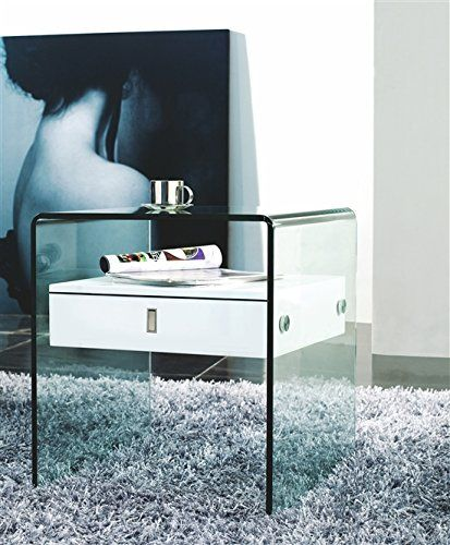 High Gloss White Lacquer Nightstand / End Table by Casabianca Home is part of the BARI Collection. Casabianca Home http://www.amazon.com/dp/B00VPRAQAG/ref=cm_sw_r_pi_dp_YT6gwb0TGV64Q