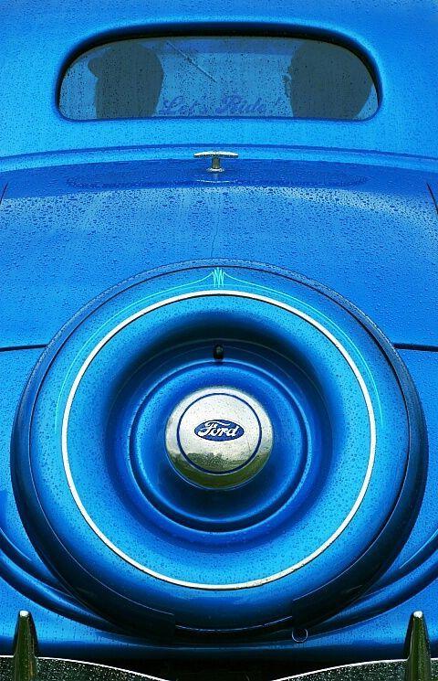 Inspiración blue: car