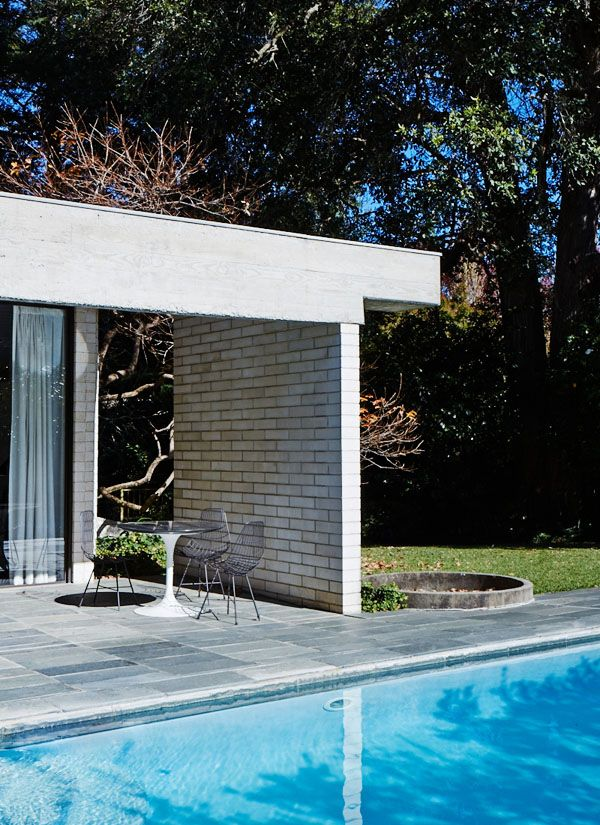 Gissing House by Harry Seidler (built 1972) Photo - Sean Fennessy, production – Lucy Feagins / The Design Files.