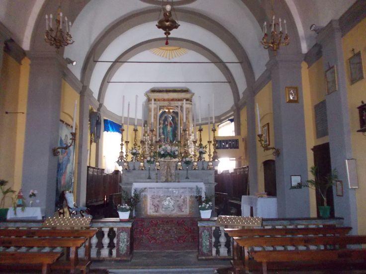 Fiumalbo ( Modena ) interno della chiesa