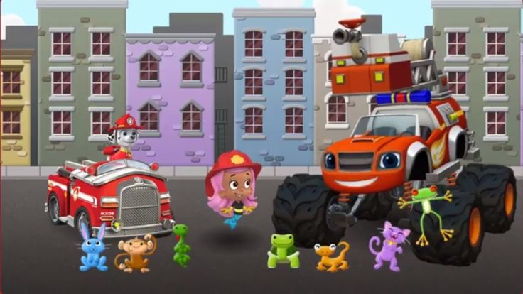Nick Jr. Firefighters' Rescue | Watch & Play Game PAW Patrol online | Kids Games