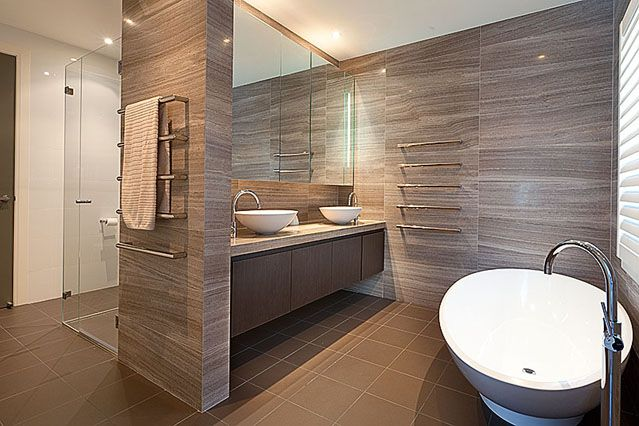 #modern homes #bathroom by Chateau