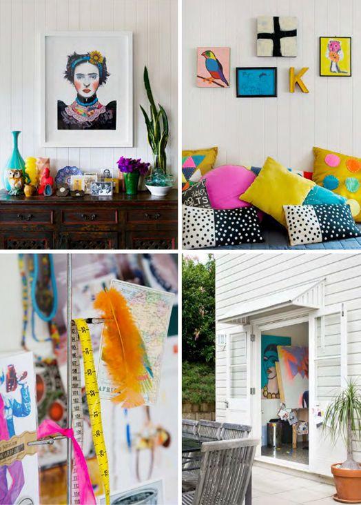Artist, Emma Gale's home & studio | Est Magazine Issue 9