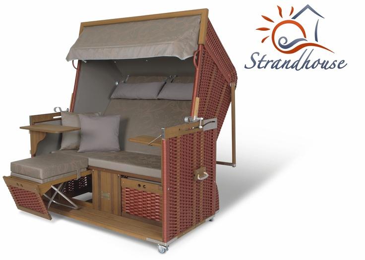 Liegeinsel beach lounge  14 best Strandkörbe images on Pinterest | Beach tops, Beach chairs ...