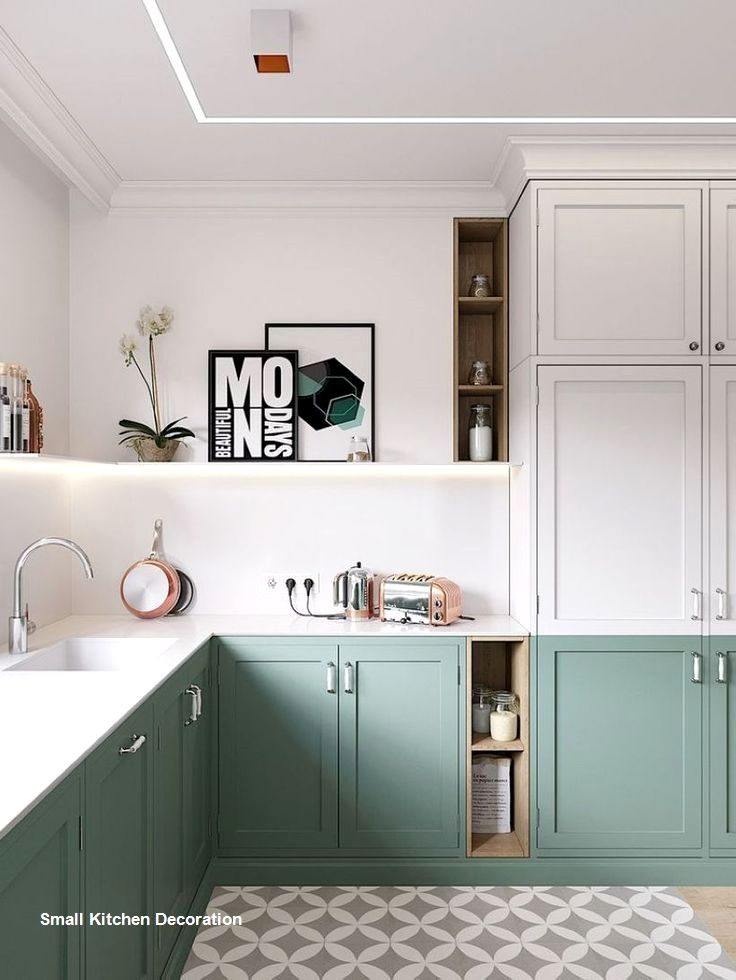 10 Clever Ideas For Small Kitchen Decoration Kitchen Decoration