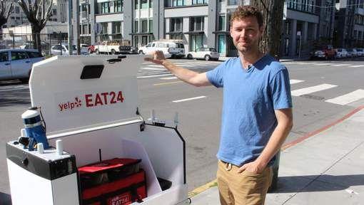 Des robots livrent leurs premiers repas