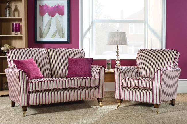 Love this classy, striped suite!