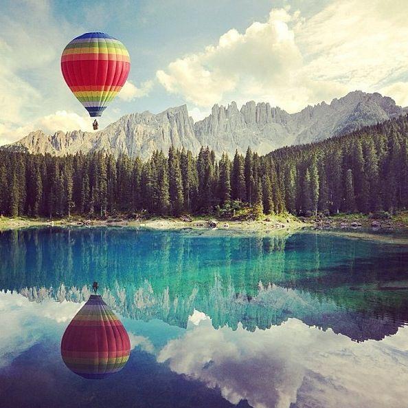 Lago di Carezza Dolomites, Italy